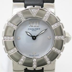 Chaumet Class 1 SS Rubber Womens Wristwatch 24 MM