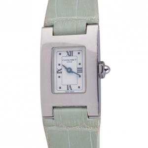 Chaumet Green SS Classic Womens Wristwatch 20 MM