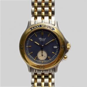 Chopard 1000 Miglia SS Blue Mens Wristwatch 36 MM