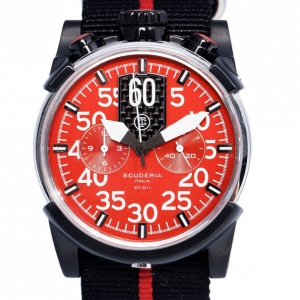 CT Scuderia Red Stainless Steel CS10106 Men's Wristwatch 46MM