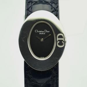 Christian Dior Black SS Ladies Wristwatch