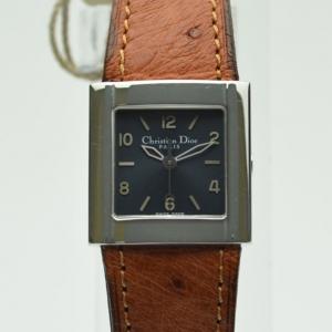 Dior Grey Stainless Steel D80-100 Women's Wristwatch 23 mm