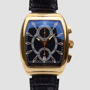 Dubey & Schaldenbrand Gran' Chronograph 18 K Gold Mens Wristwatch 42 MM