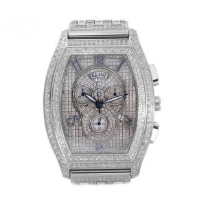 Elini Chronograph Swiss Movement Diamond Mens Watch