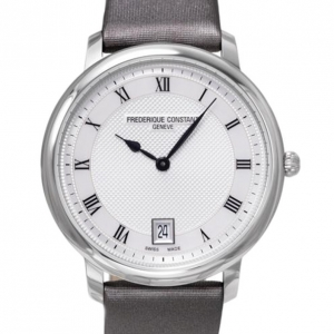 Frederique Constant SS White Ladies Wristwatch