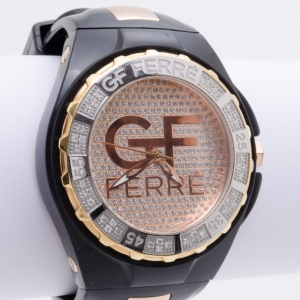 GF Ferre SS Bejeweled Ladies Watch
