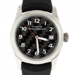 Girard Perregaux F1047 Aluminum Mens Wristwatch 42 MM