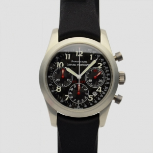 Girard Perregaux F1047 Aluminum Chronograph Mens Wristwatch 42 MM