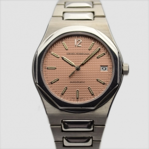 Girard Perregaux Laureato SS Brown Mens Wristwatch 38 MM