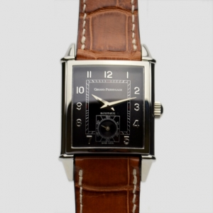 Girard Perregaux Vintage 1945 SS Black Mens Wristwatch 30 MM