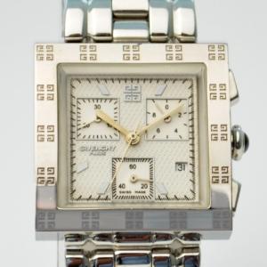 Givenchy Apsaras SS White Mens Chronograph
