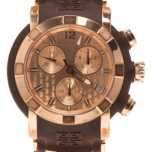 Givenchy Rose Gold Stainless Steel GV-5213J Men's Wristwatch 46MM