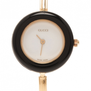 Gucci White Stainless Steel 11/12 Women's Wristwatch 24MM