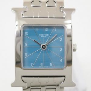 Hermes H SS Womens Wristwatch 21 MM