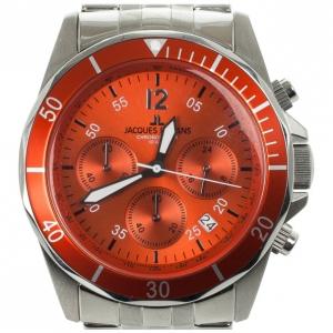 Jacques Lemans SS Chronograph Mens Wristwatch 43 MM
