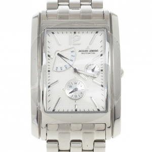 Jacques Lemans 1-1246 Stainless Steel Mens Watch 34 MM