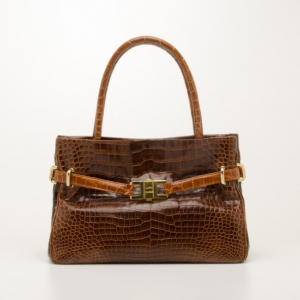 Lana Marks Medium Alligator Positano Tote
