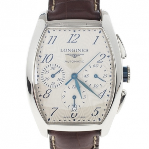 Longines Evidenza Chronometer SS Mens Wristwatch 34 MM