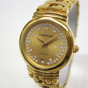 Louis Erard Wristwatch GP Gold Ladies