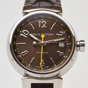 Louis Vuitton Tambour Wristwatch Brown