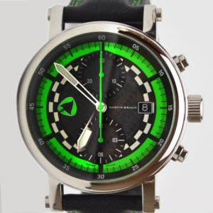 Martin Braun Gents Sport Grand Prix Dakar Limited Edition Chronograph