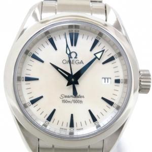 Omega Seamaster Aqua Terra SS Womens Wristwatch 29 MM