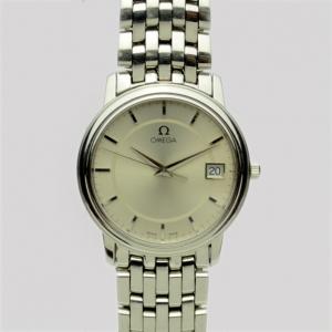 Omega Stainless Steel De Ville Prestige Unisex Wristwatch