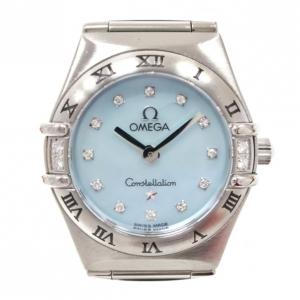 Omega Constellation 12P Diamond Ladies Wristwatch SS