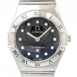Omega Constellation Mini 12P Diamond Ladies Wristwatch
