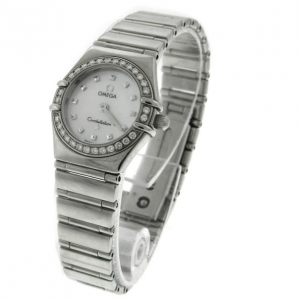 Omega Constellation Mother of Pearl Insignia Diamond Watch Ladies