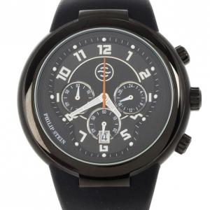 Philip Stein Active Stainless Steel & Rubber Mens Wristwatch 42 MM