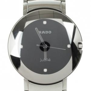 Rado Centrix Jubile Stainless Steel Quartz Mens Wristwatch 34 MM