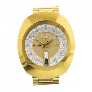 Rado DiaStar SS Gold Mens Wristwatch