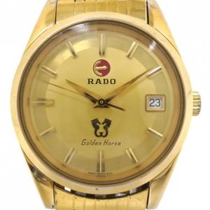 Rado Golden Horse Gold Plated SS Mens Wristwatch