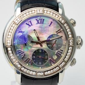 Raymond Weil Parsifal MOP Diamonds Mens Chronograph Wristwatch