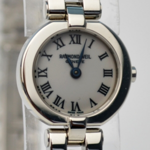 Raymond Weil SS White Ladies Wristwatch