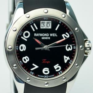 Raymond Weil Tango SS Black Mens Wristwatch