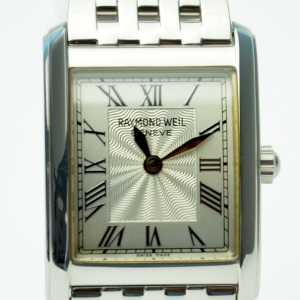 Raymond Weil SS Silver Ladies Wristwatch