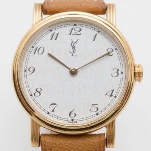 Yves Saint Laurent Gold Plated Classic Collection Ladies Wristwatch