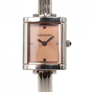 Saint Laurent Paris Bangle SS Womens Wristwatch 20 MM