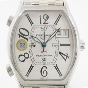 Ulysse Nardin MichelAngelo UTC SS Mens Wristwatch 35 MM
