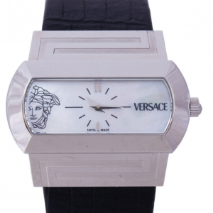 Versace Mother of Pearl Stainless Steel PS91990 Men's Wristwatch 40MM