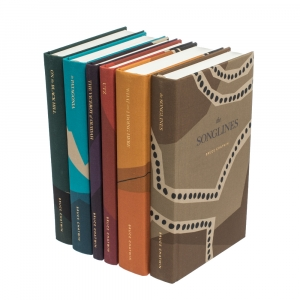 "Burberry Multicolor Limited Edition 124/280 ""Book Covers & Bruce Chatwin"" Set of 6 Books"