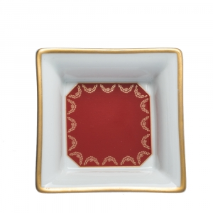 Cartier De Limoges Porcelain Mini Trinklet Tray