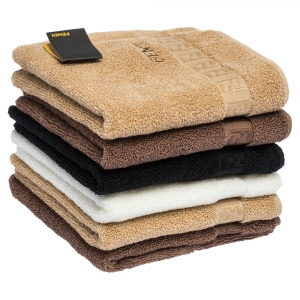 Fendi Terry Cotton Mini Hand Towel 6 Pcs Set
