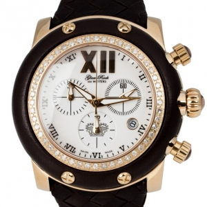 Glam Rock Miami Collection Chronograph Diamond Unisex Wristwatch 44MM