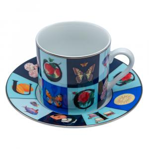 Gucci Vintage Porcelain Cup & Saucer Set