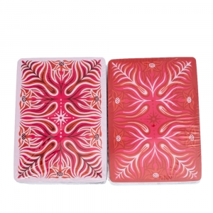 Hermes Red & Pink Playing Cards