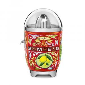 Smeg x Dolce & Gabbana, Sicily is my Love Citrus Juicer, Multicolour (Available for UAE Customers Only)