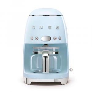 ماكينة تحضير قهوة سميج طراز رترو الخمسينات أسثيتيك فلتر تنقيط، زرقاء باستيل (متاح لعملاء دولة الإمارات العربية فقط)